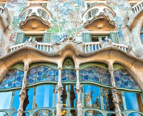 Ruta del Modernismo: Casa Batlló Barcellona
