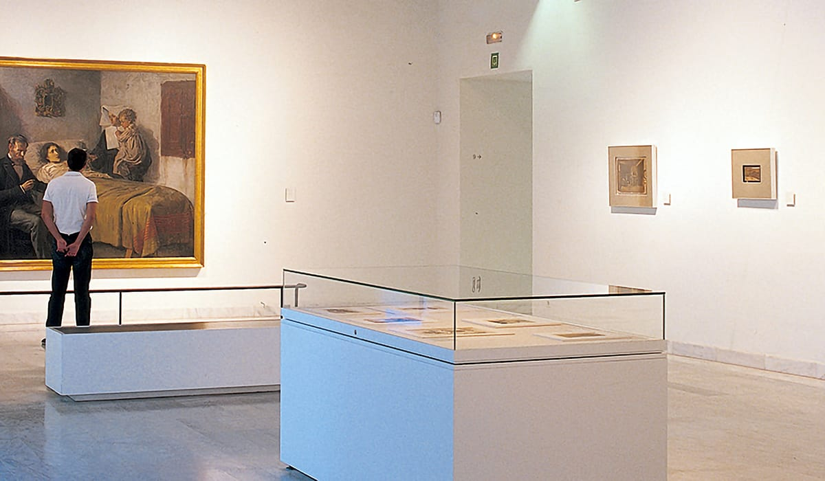Sala Ciència i Caritat al Museo Picasso, Barcellona