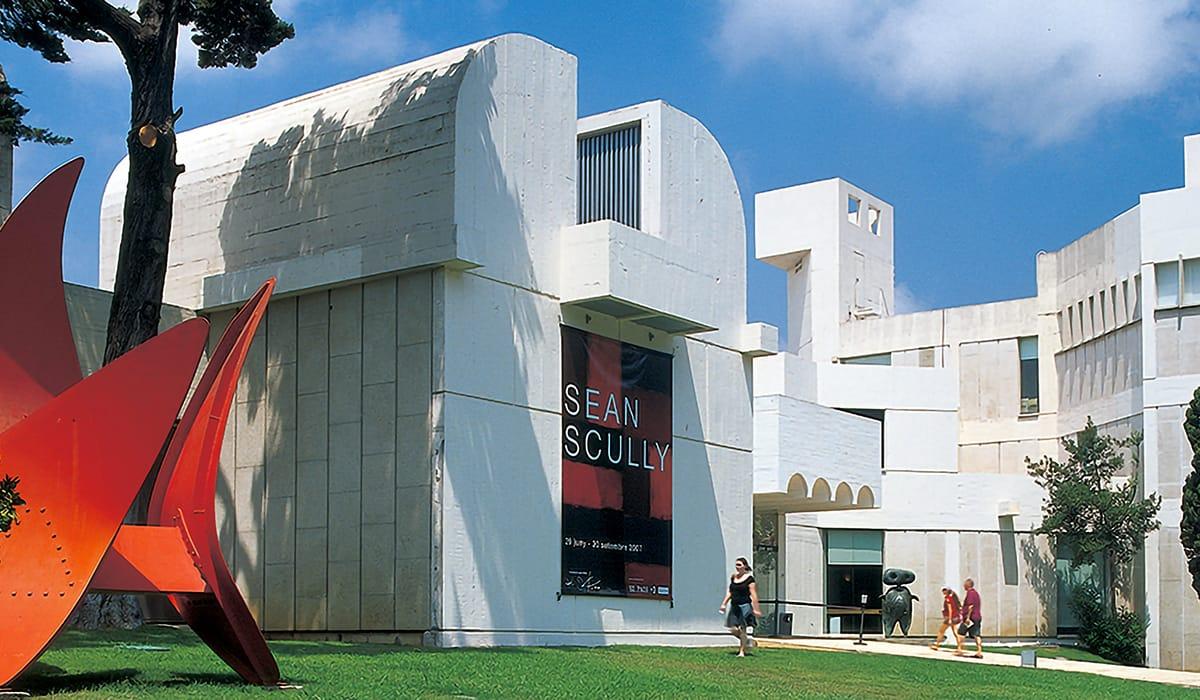 Musei Barcellona: Fundació Joan Miró esterno