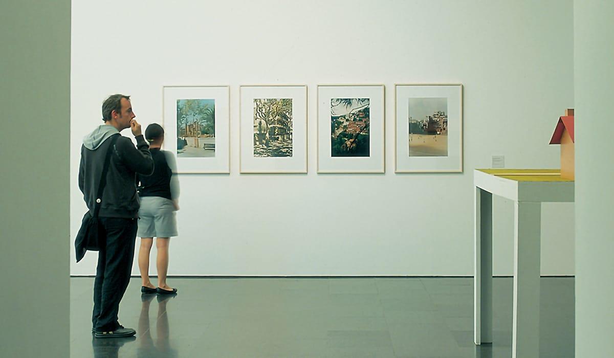 Museo di Arte Contemporanea di Barcellona interno