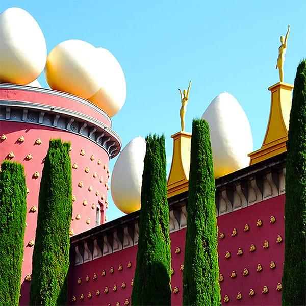 Gite da Barcellona: museo Dalí Figueres