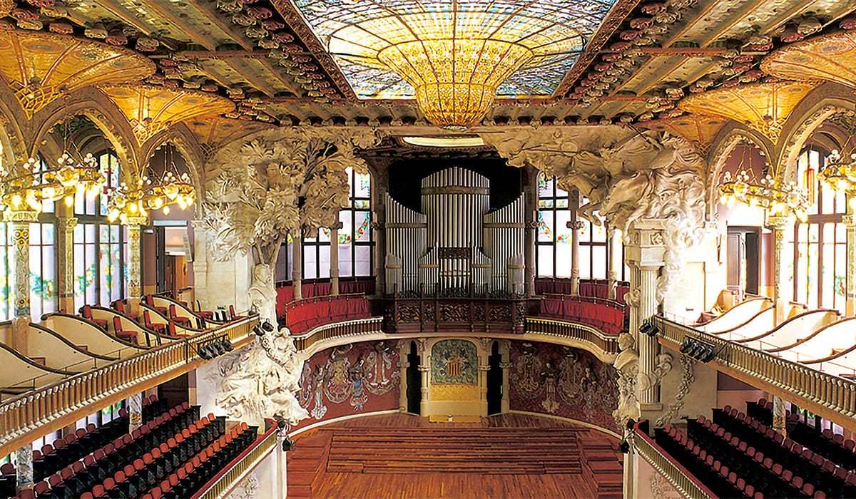 Palau de la Música Catalana, tappa della Ruta del Modernismo