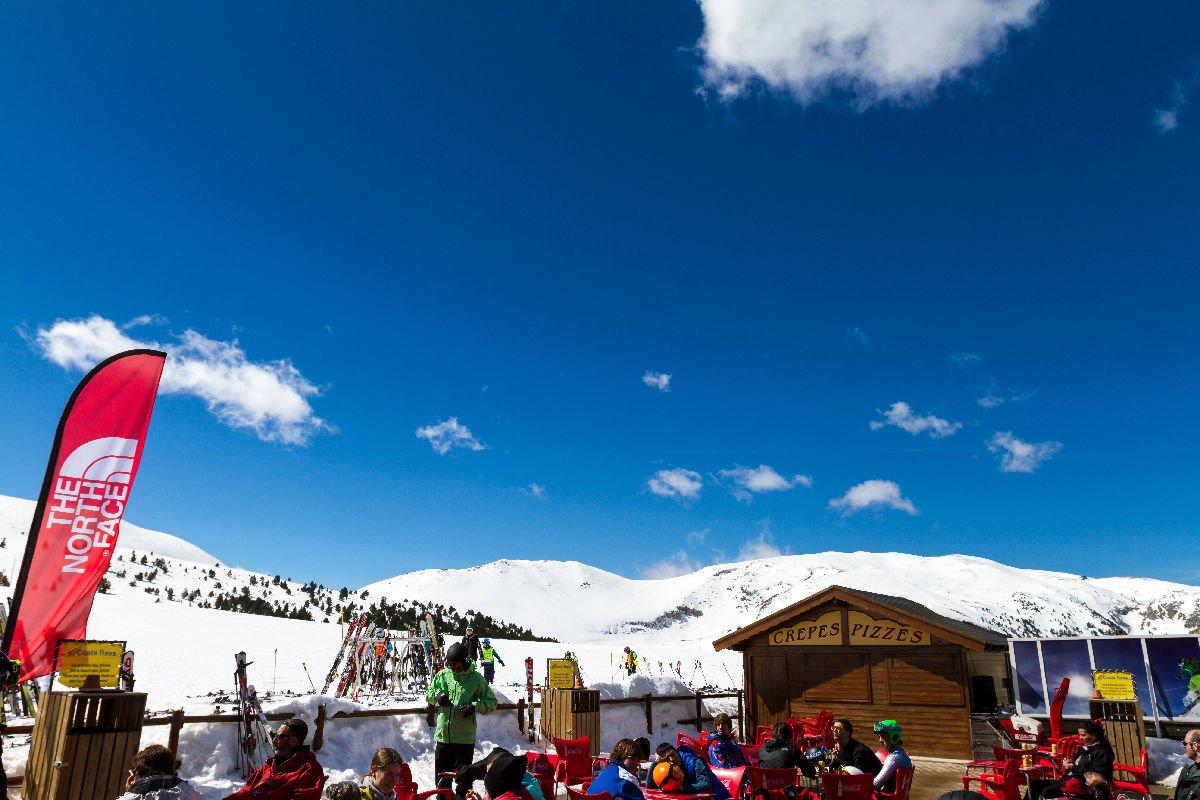 Bar della stazione sciistica La Molina