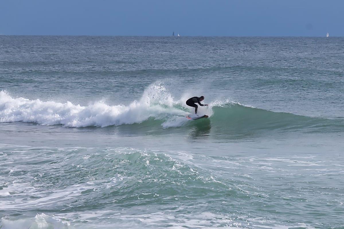 Barcellona surf spiaggia