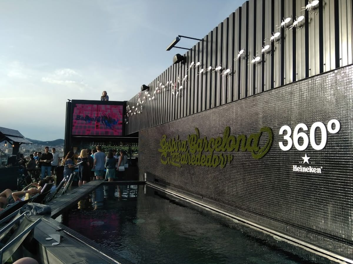 Barceló Raval terrazza 360