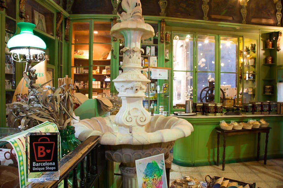Barcelona Unique Shops interno