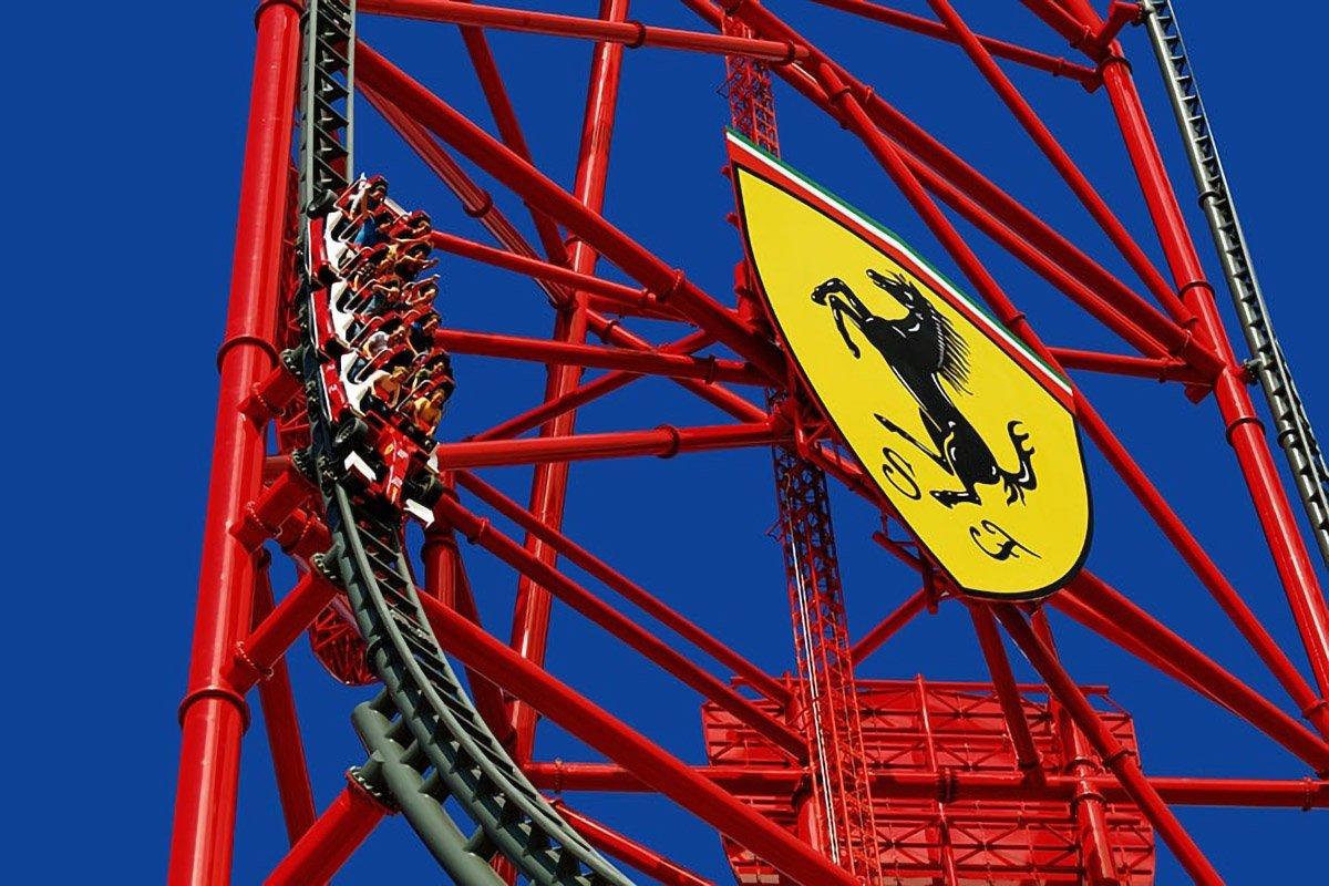 Ferrari Land a Port Aventura, Costa Daurada con bambini
