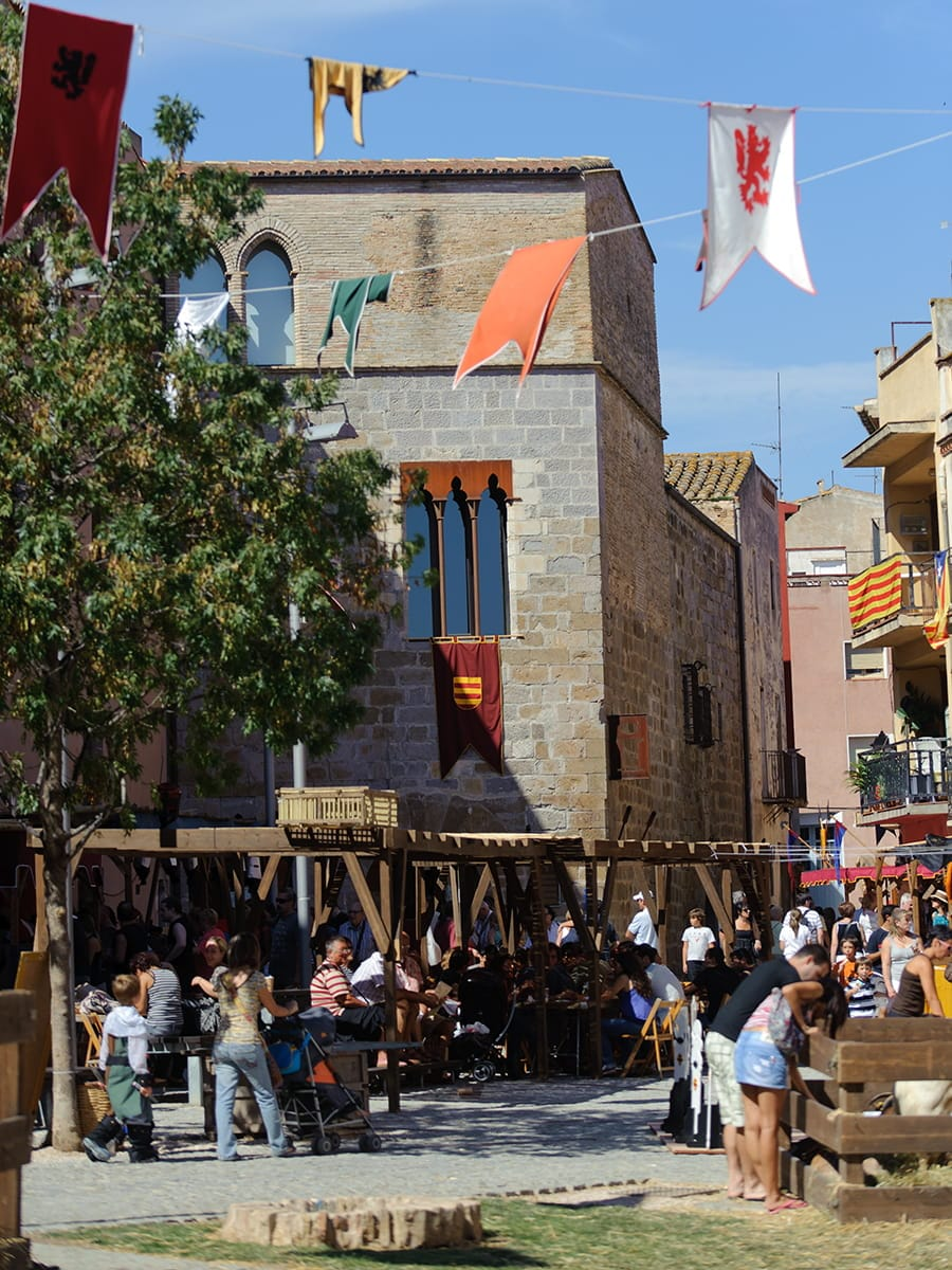 Feste Catalunya: mercato medievale Vic
