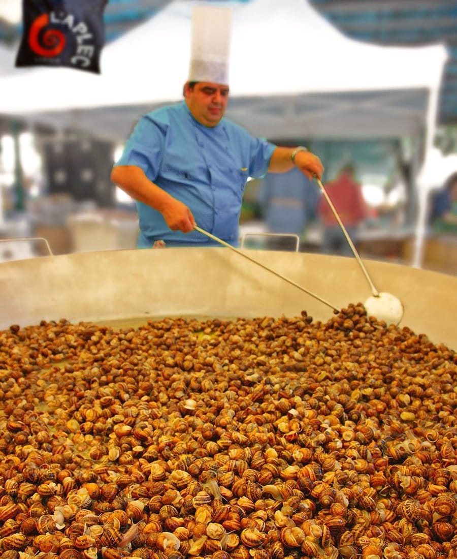 Eventi gastronomici Catalunya: Fira de la Vinyala lumache