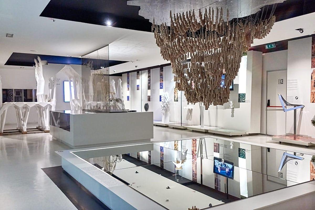 Gaudí Center Reus sala interna