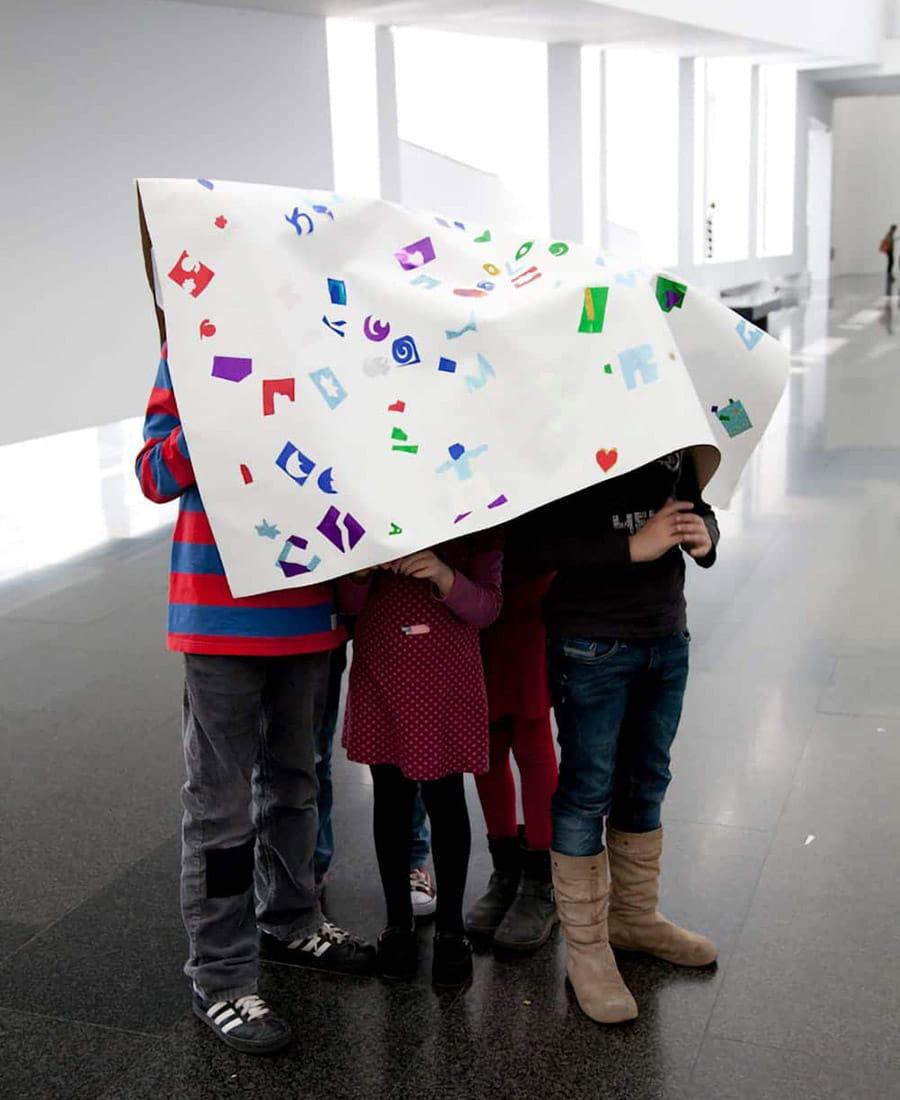 Bambini a Barcellona