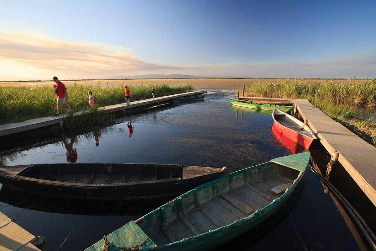 Riserve della Biosfera: Llacuna Garxal Delta de l'Ebre