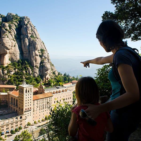 Gite con bambini: Montserrat, vicino Barcellona