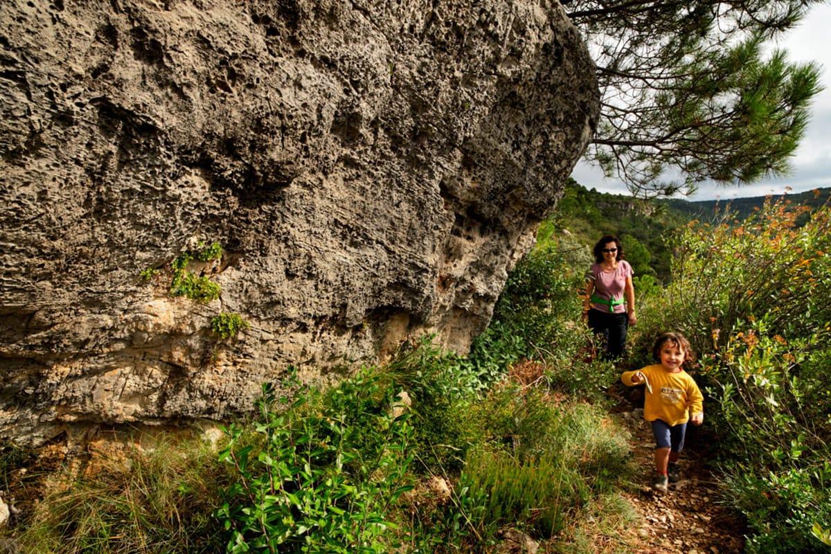 Muntanyes de Prades percorso con i bambini