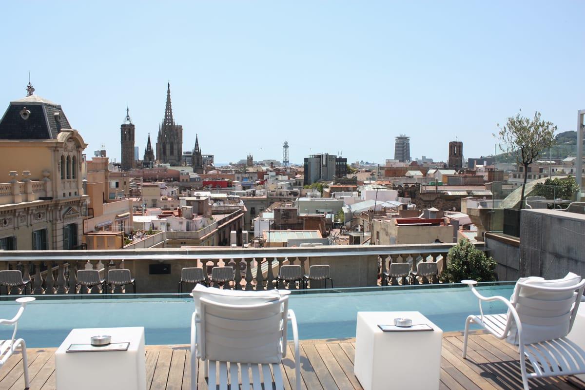 Ohla Barcelona terrazza