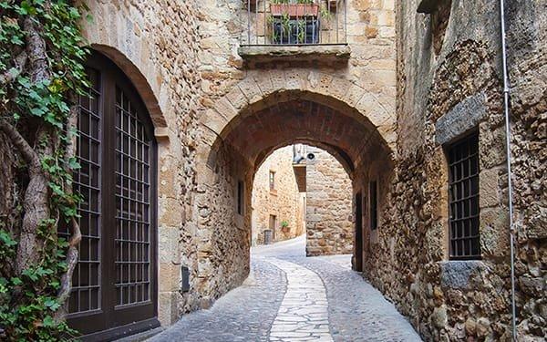Paesi medievali: scorcio interno di Pals