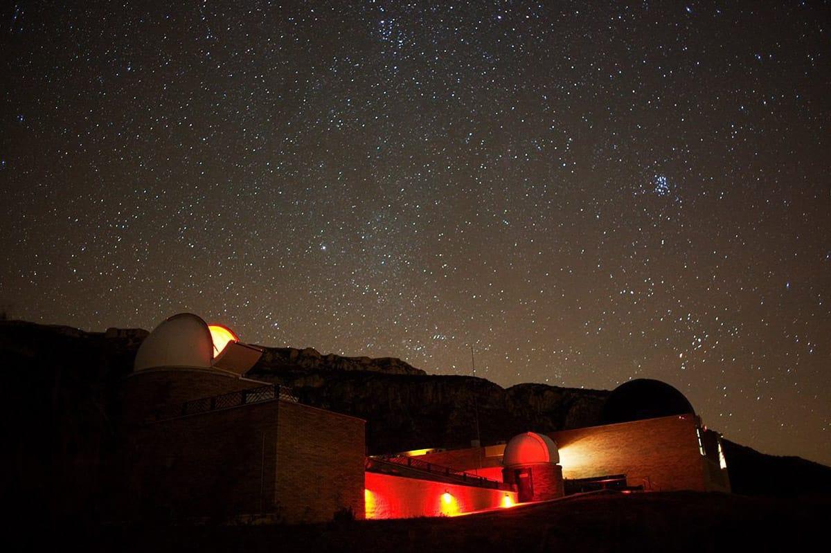 Pirenei catalani con i bambini: Parc Astronòmic Montsec