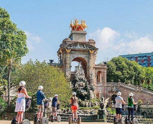 Barcellona con bambini Parc de la Ciutadella famiglia