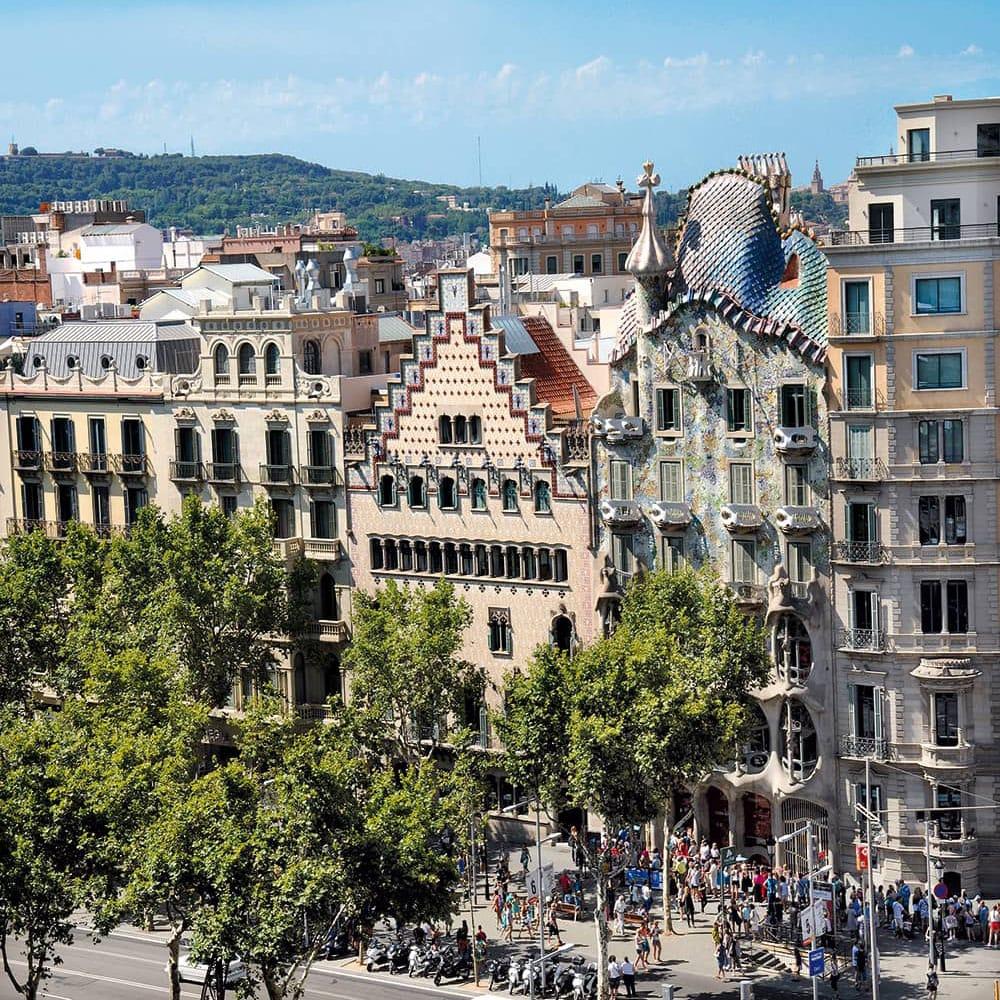 Passeig de Gràcia Barcelona Casa Ametller Casa Batlló Gaudí
