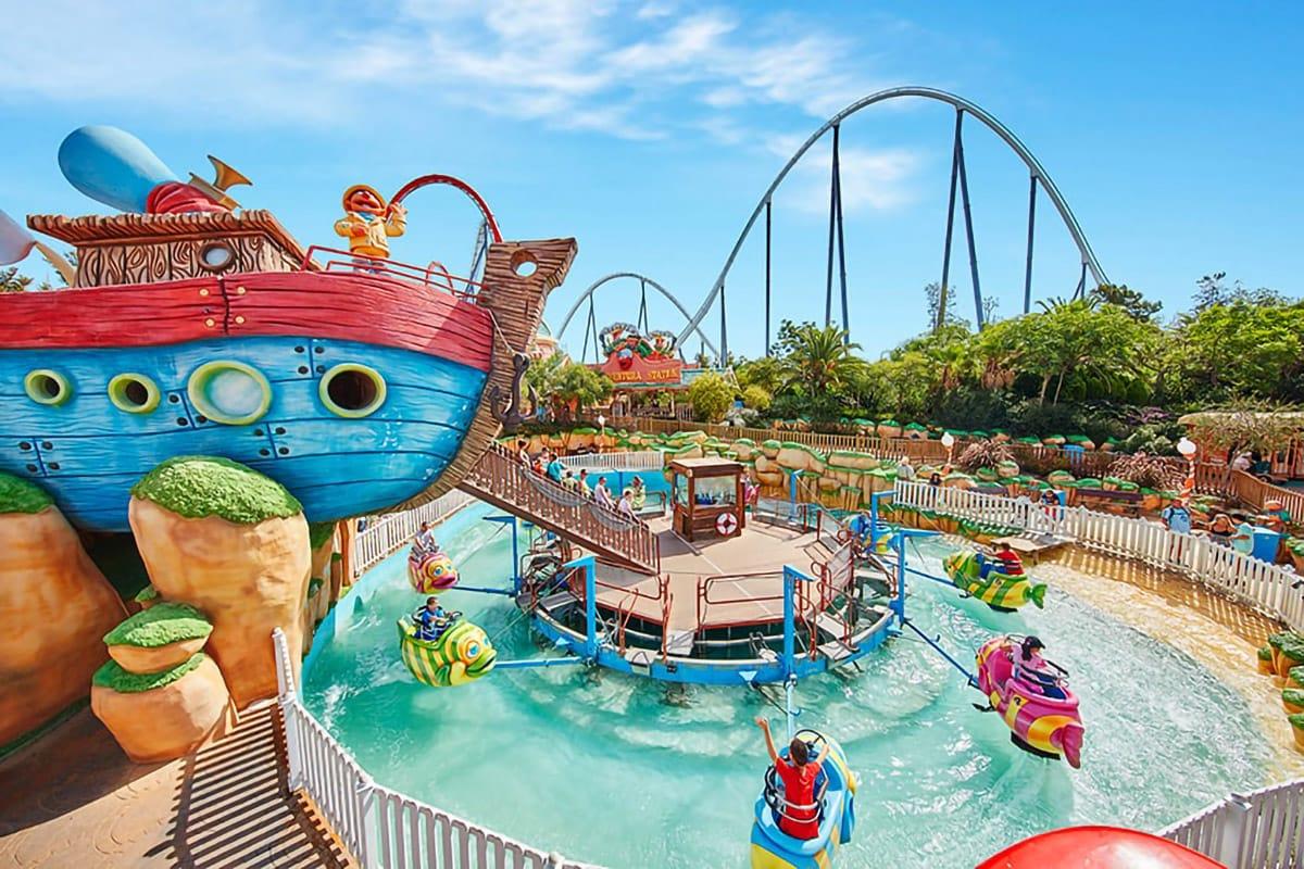 PortAventura giochi acquatici per bambini, Costa Daurada