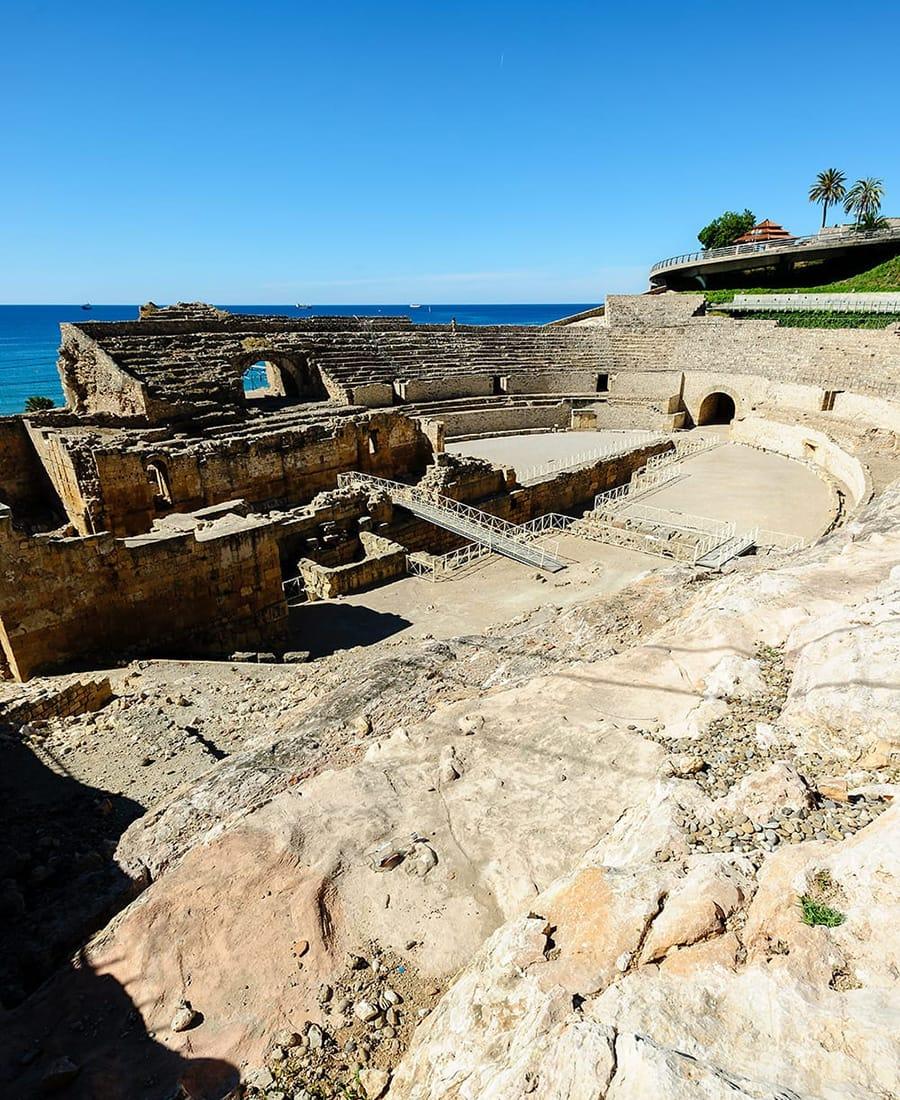 Anfiteatro di Tarragona, interno