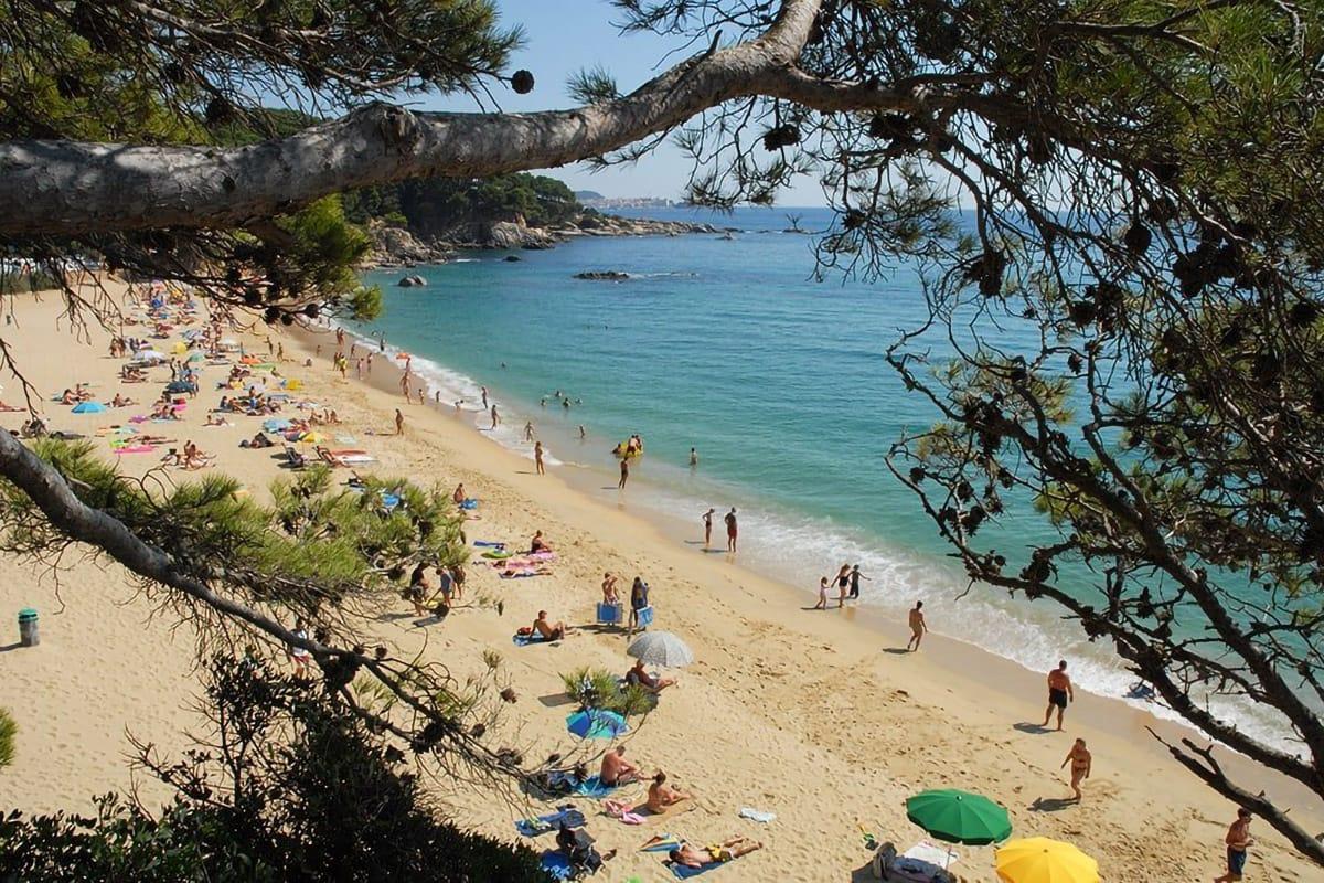 Spiaggia di Calonge vista alto