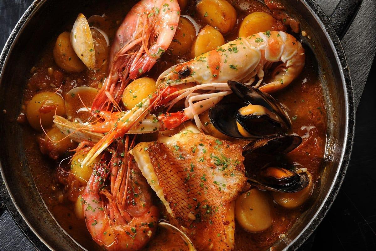 Suquet de Peix zuppa mare catalana