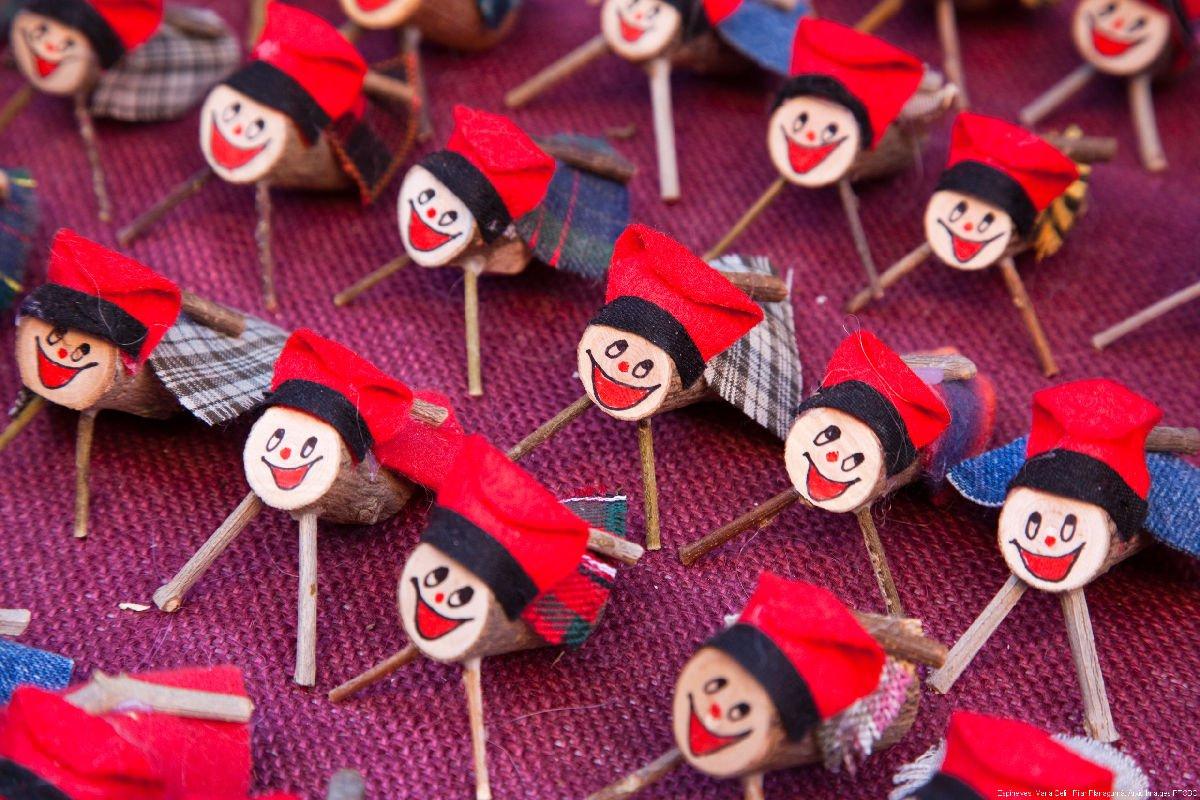 Tió al mercatino di Natale di Espinelves