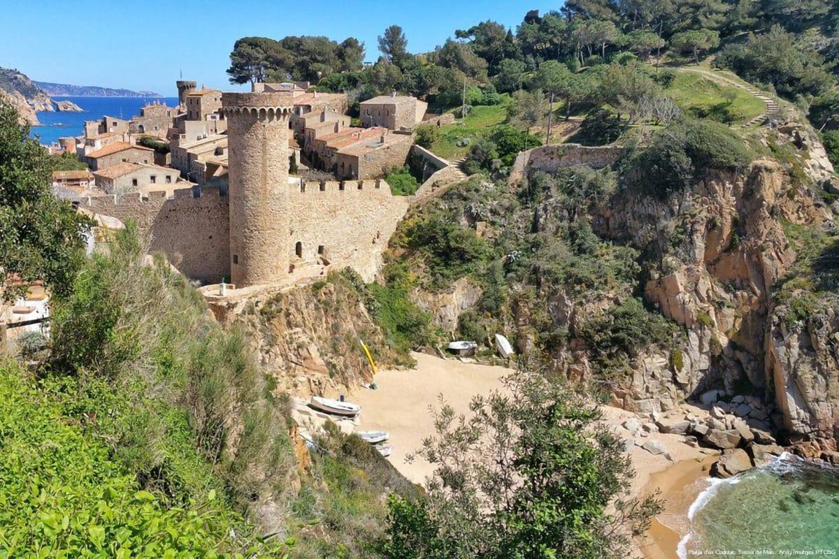 Tossa de Mar castello