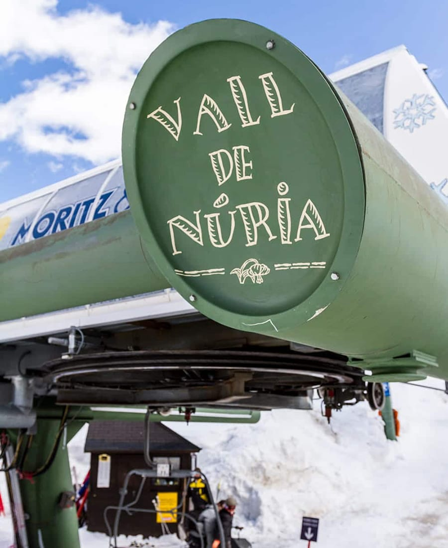Impianti sci Val de Núria Pirenei