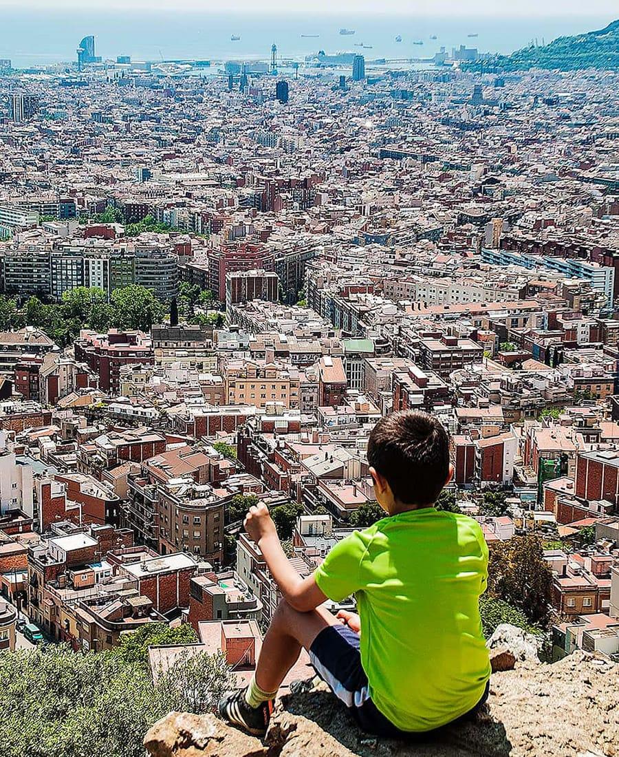 Vista Barcellona dal Turó