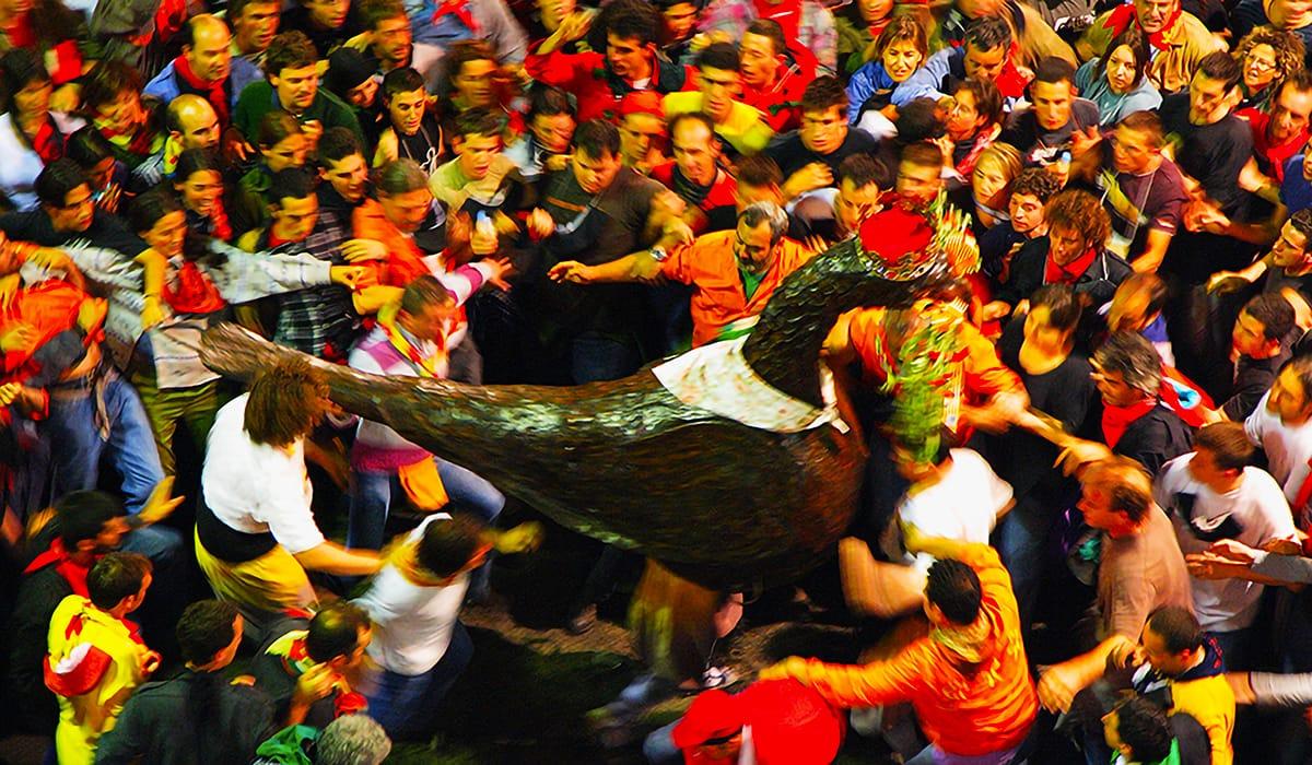 L'Àguila de la Patum di Berga