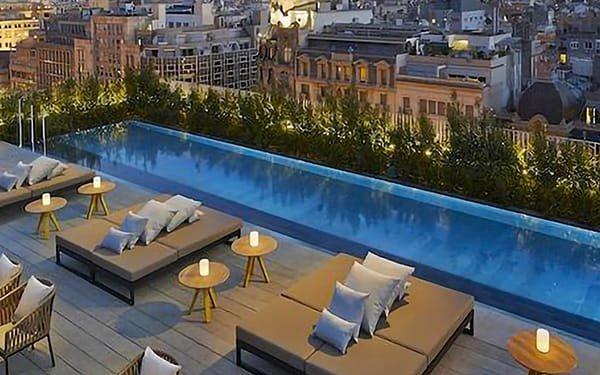 Hotel Mandarin, Roof-top Barcellona