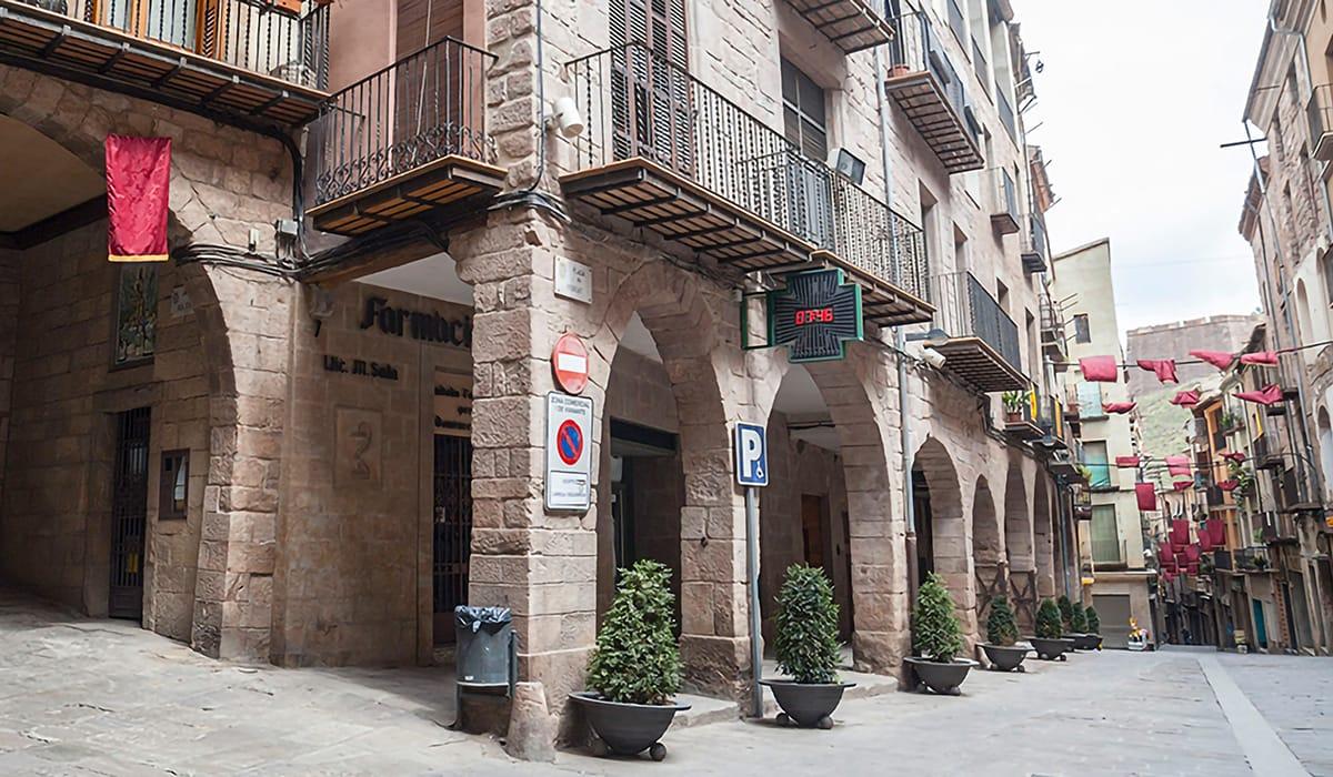 Centro storico, Cardona