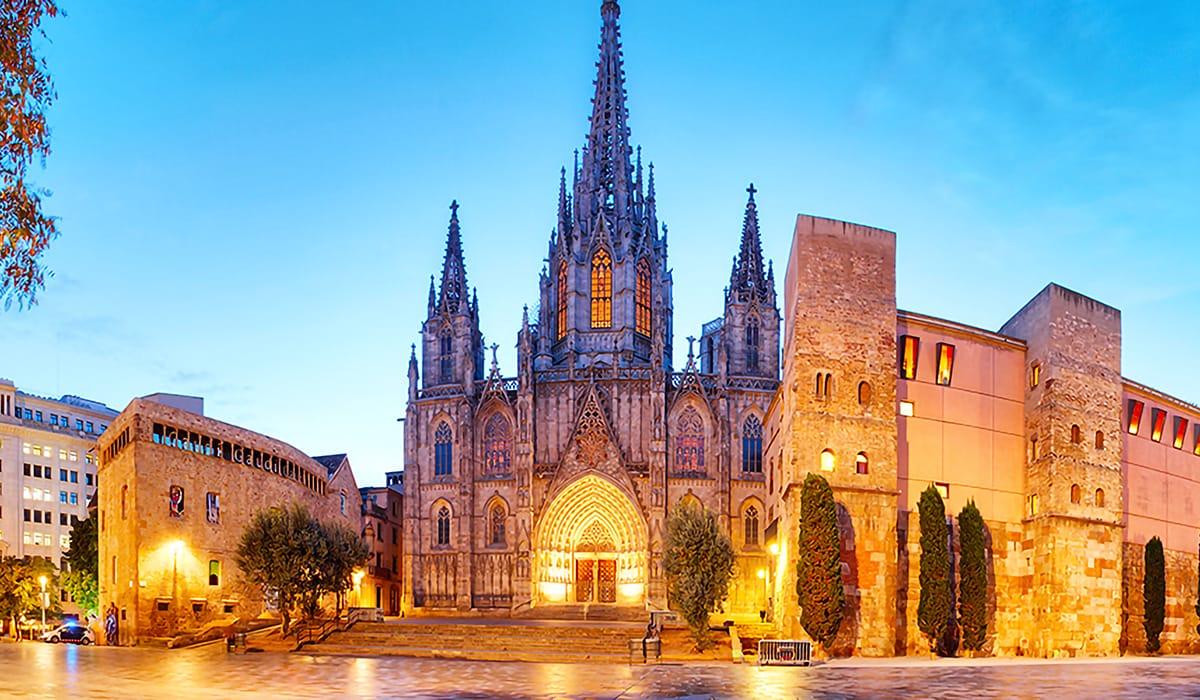 Barri Gòtic, Cattedrale di Barcellona