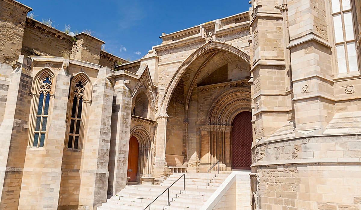 Cattedrale di lleida, ingresso