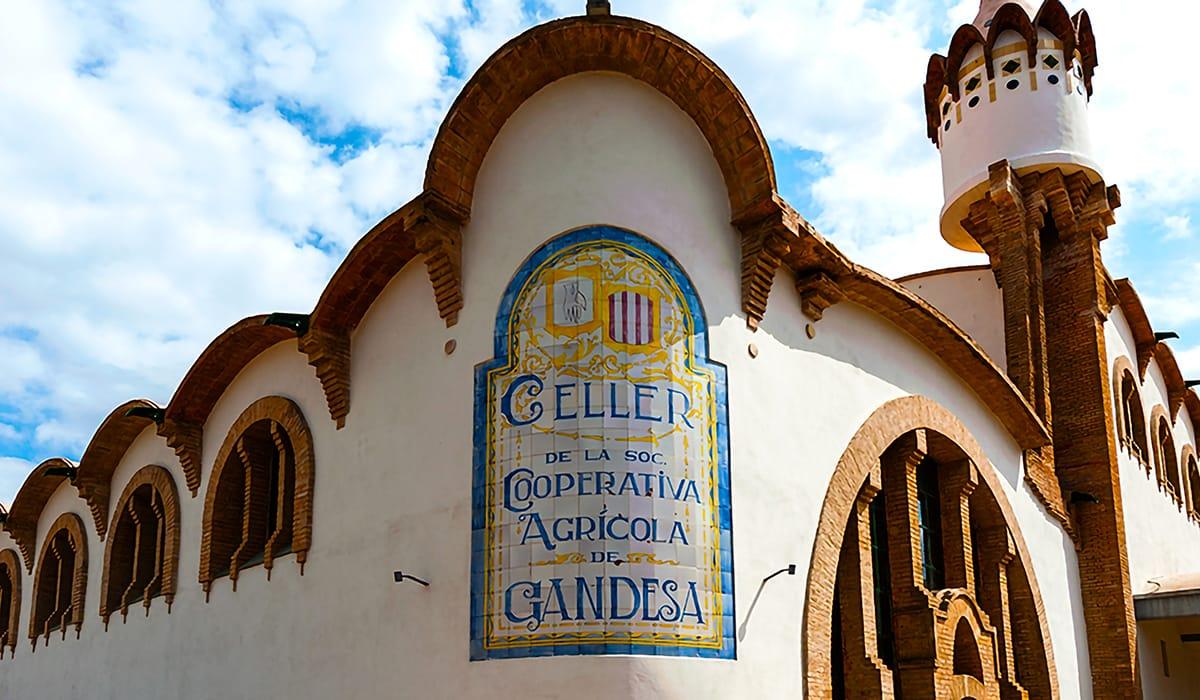 Cattedrali del Vino: Celler Cooperatiu de Gandesa, esterno