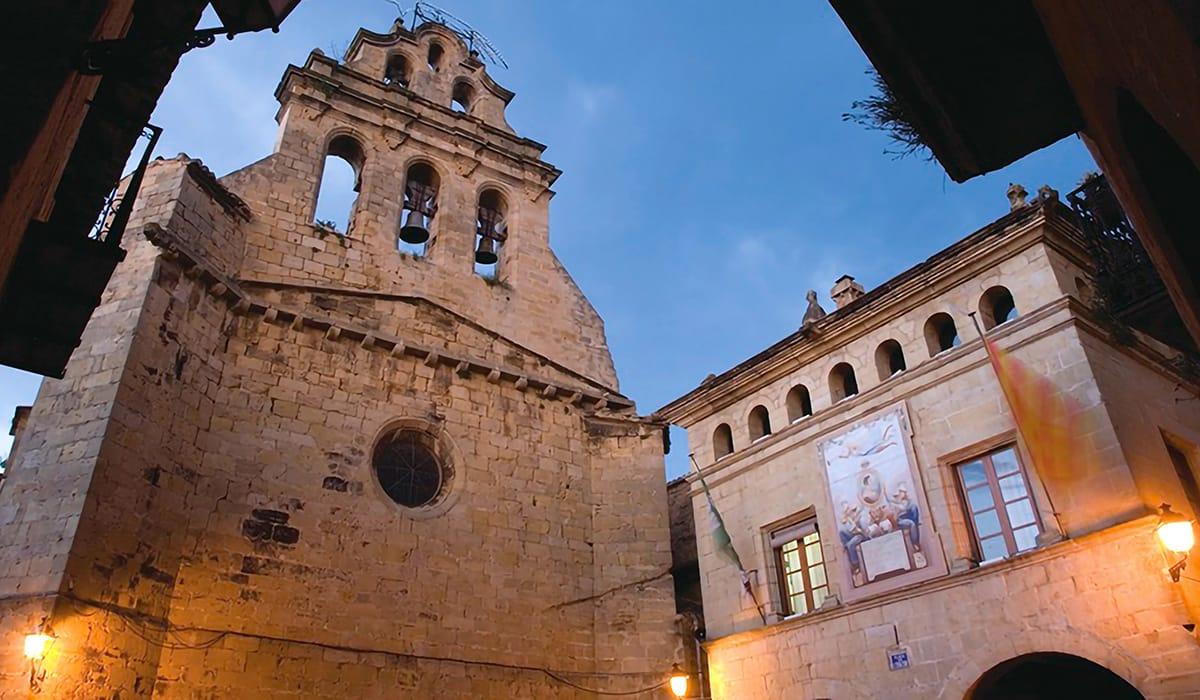 Chiesa di Sant Joan a Horta Sant Salvador, esterno