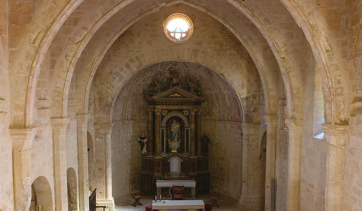 Horta de Sant Joan, Chiesa di Sant Salvador, navata