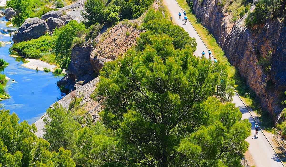 Cicloturismo Via Verda Tortosa
