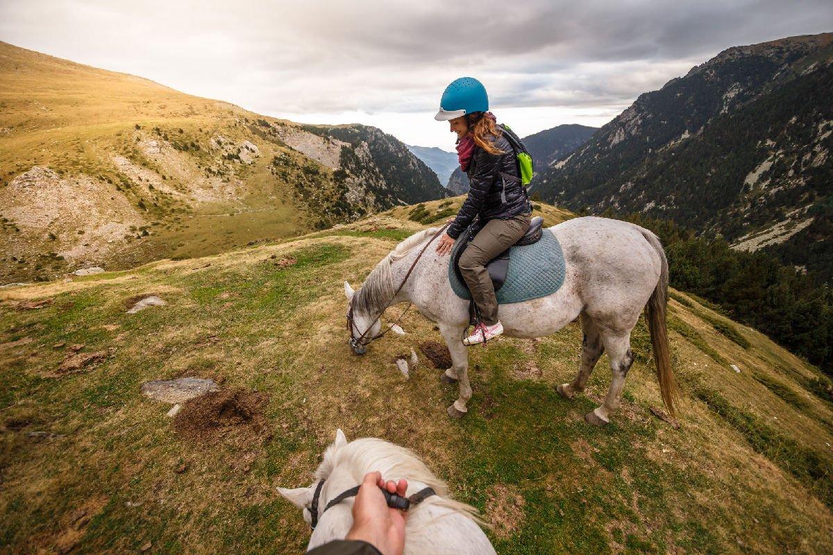 A cavallo in Vall de Núria