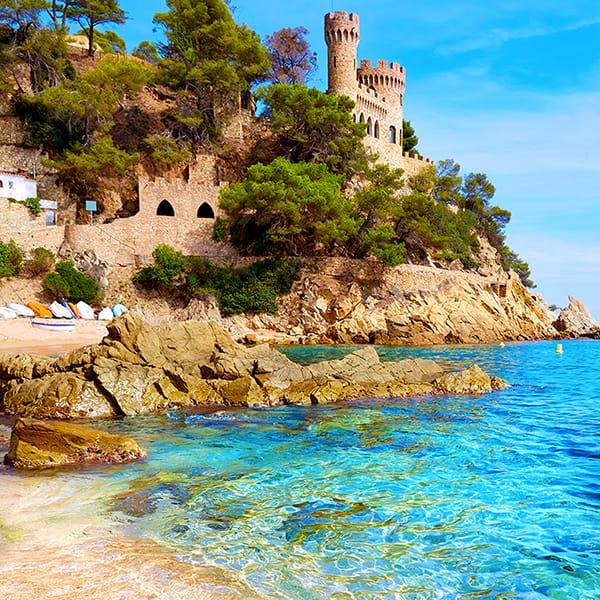 Castell Platja Sa Caleta, Lloret de Mar