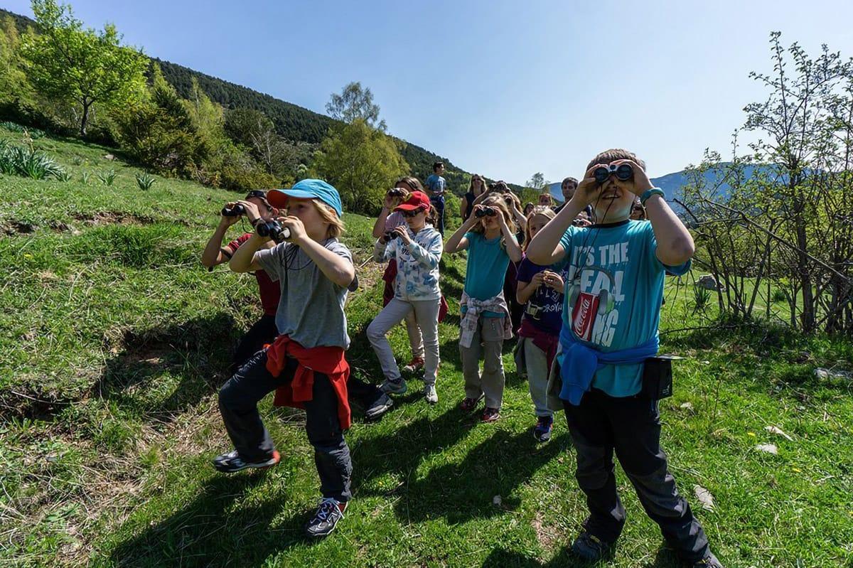 Bambini a MónNatura Pirineus