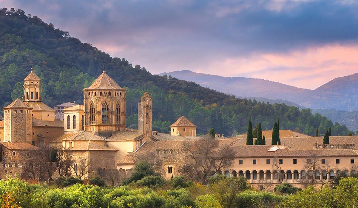 Monastero di Poblet esterno
