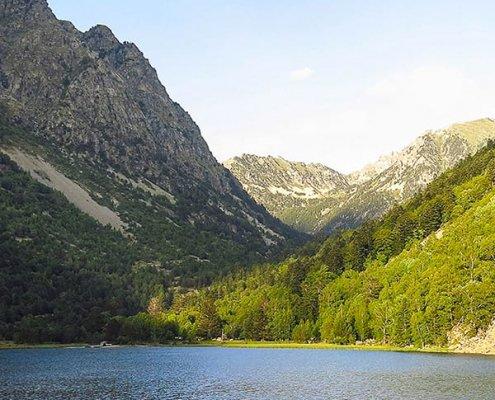 Estany de Sant Maurici, Pirenei