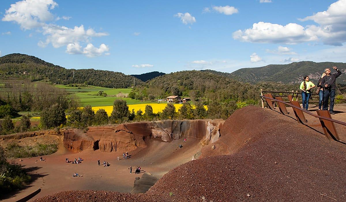 La Garrotxa: Vulcano El Croscat, Santa Pau