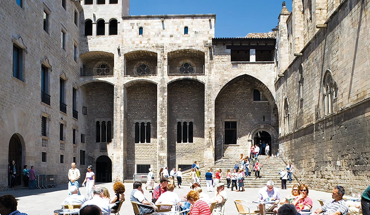 Barri Gòtic, Plaça del Rei
