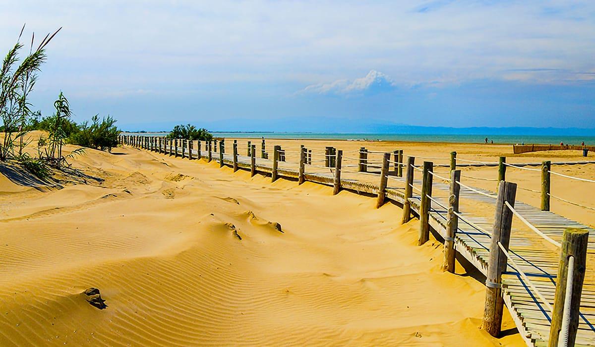 Spiaggia Riumar, Delta de l'Ebre