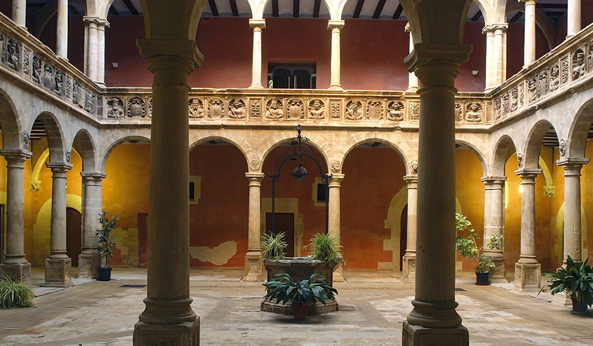 Tortosa: Scuola Sant Jaume i Sant Maties, interno