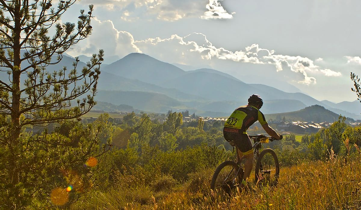 Val d'Aran in mountain bike